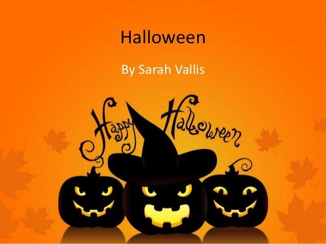 HalloweenBy Sarah Vallis