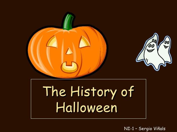 The History of Halloween  NI-1 – Sergio Viñals