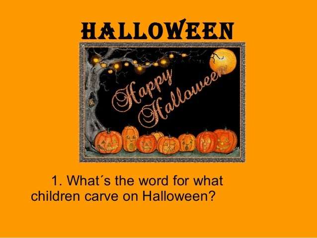 2 - Halloween Quiz For Kids