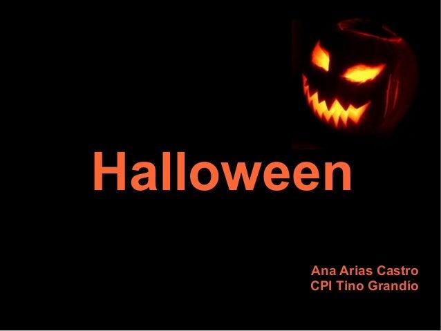 Halloween Ana Arias Castro CPI Tino Grandío