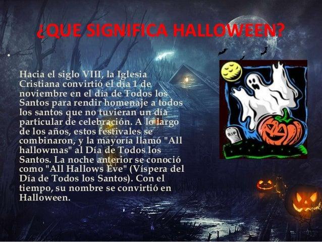 Halloween diapositiva oara HIPI I.