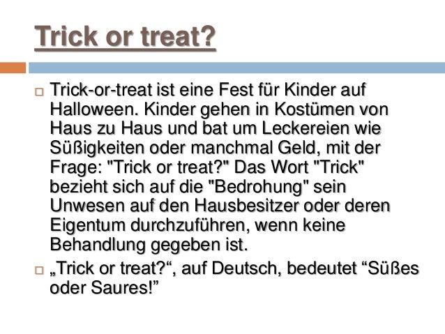 Halloween proiect germana