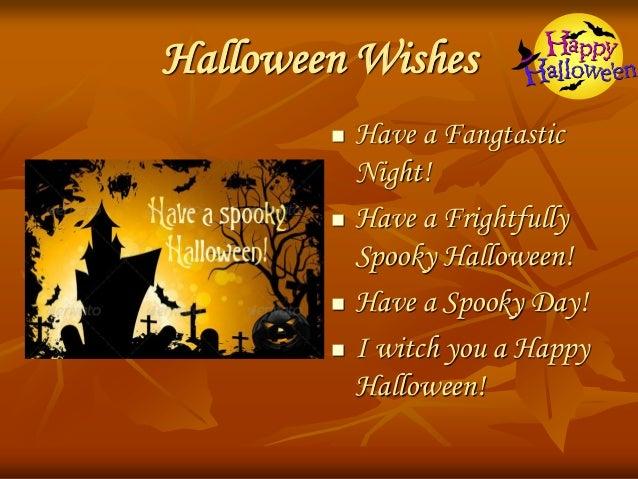 Halloween Wishes ...