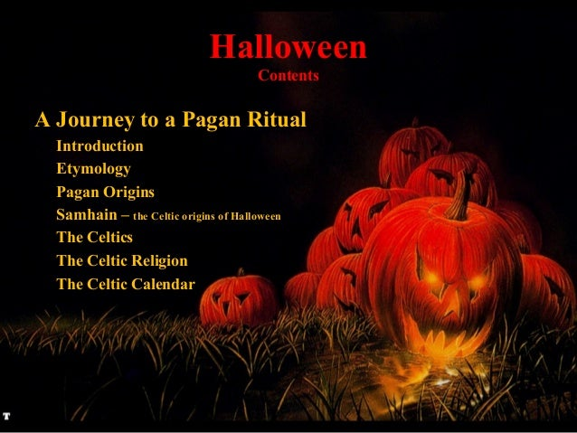 Halloween a journey to a pagan ritual - by andré