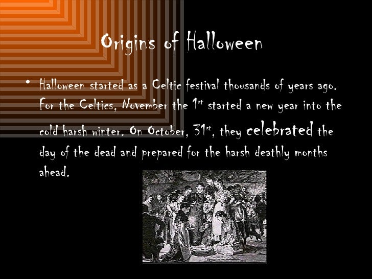 origins - The Meaning Behind Halloween