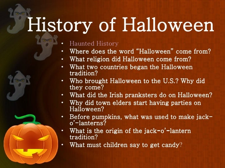 6 history of halloween - Where Halloween Originated From