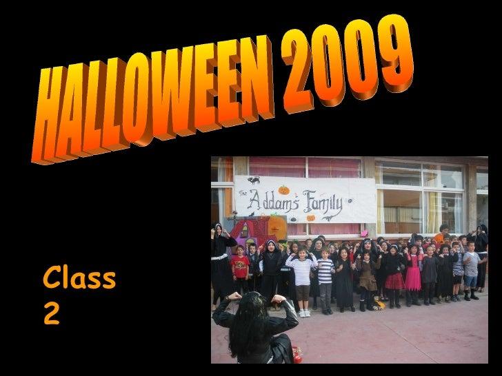 HALLOWEEN 2009 Class 2