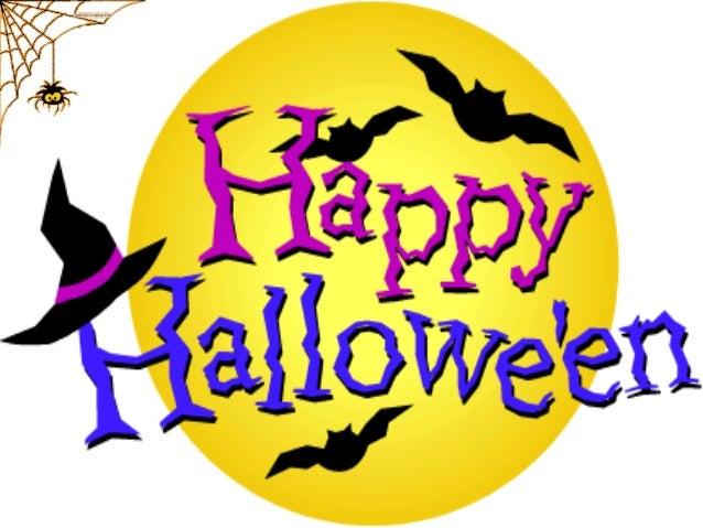Halloween is celebrated on the 31st of October!