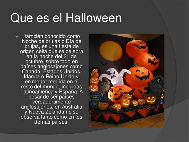 que es el halloween?