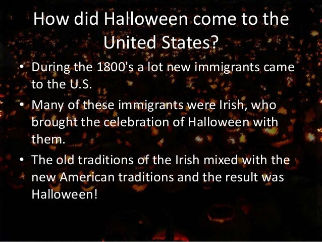 halloween and the united states 13 how did halloween come