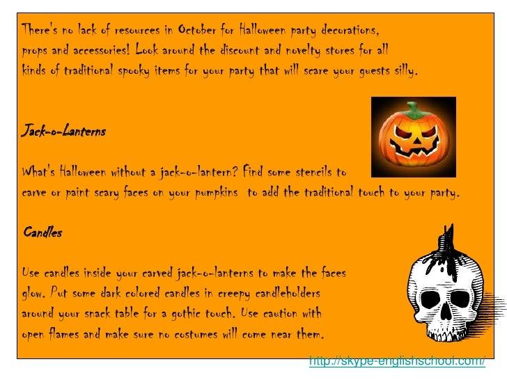 Halloween 3a (Decorating) Slide 2