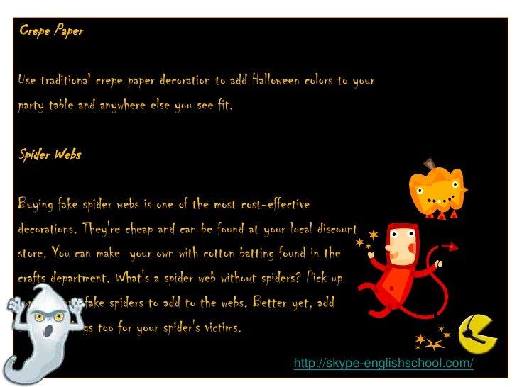 Halloween 3a (Decorating) Slide 3