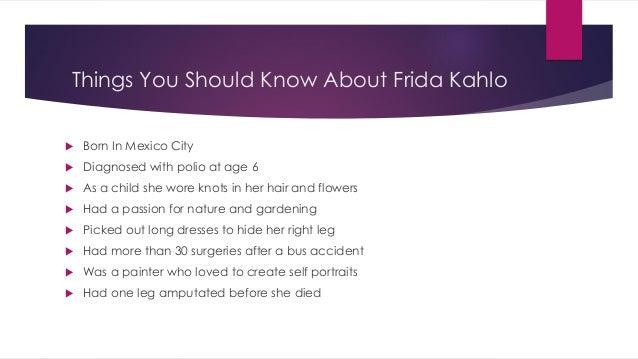 Halloween as Frida Kahlo with kim white video Slide 2