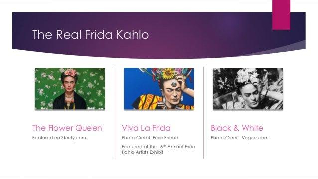 Halloween as Frida Kahlo with kim white video Slide 3