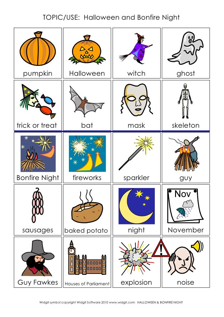 TOPIC/USE: Halloween and Bonfire Night  pumpkin               Halloween                          witch                    ...