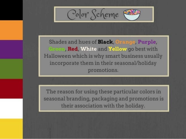 Halloween Color Palette And What Each Color Represents