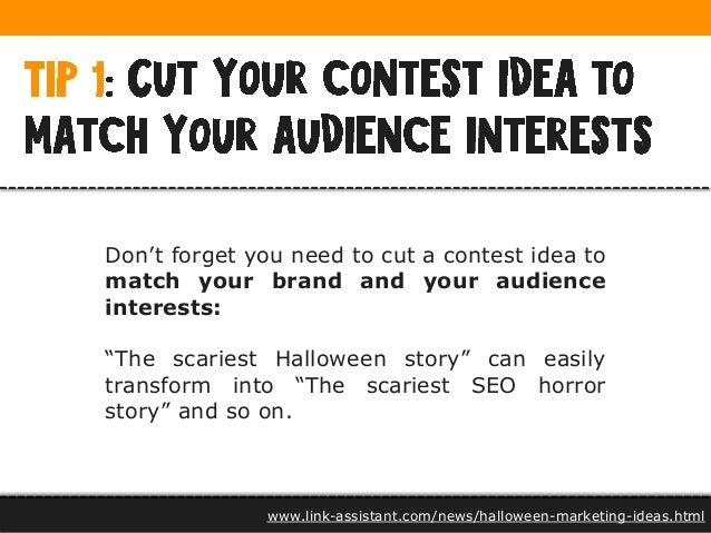halloween marketing ideas