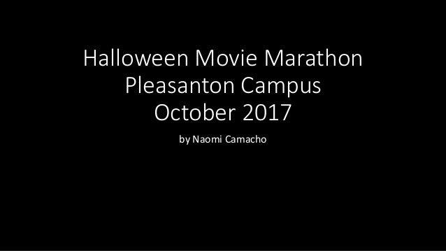 Halloween Movie Marathon Pleasanton Campus October 2017 by Naomi Camacho