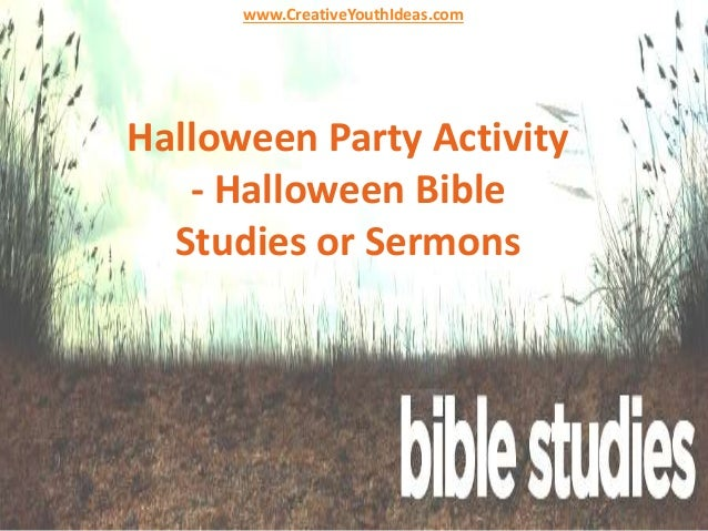 Halloween and the Devil - The Bible Study Site