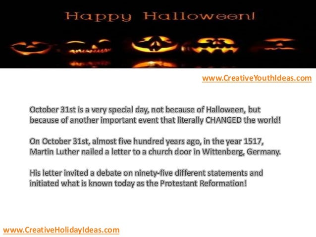 halloween party ideas a halloween message