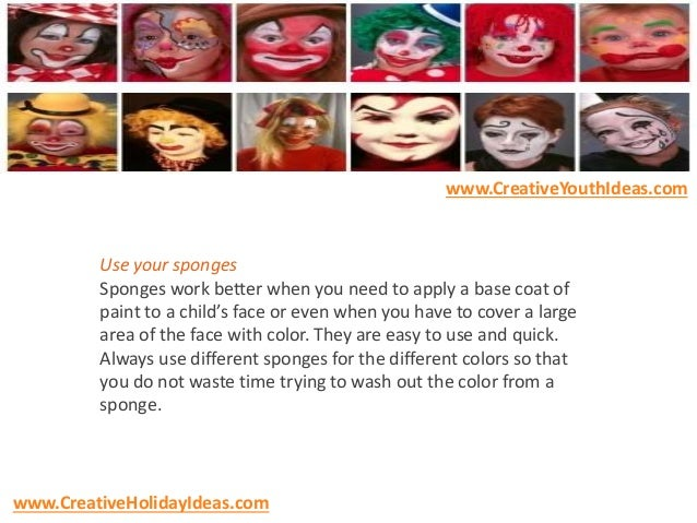 Halloween Party Ideas Face Painting Tips For Halloween Or Carnival