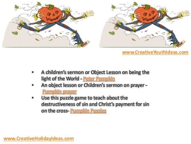 Halloween Children S Sermon