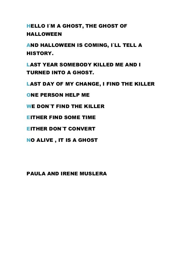 Poems About Ghosts 5