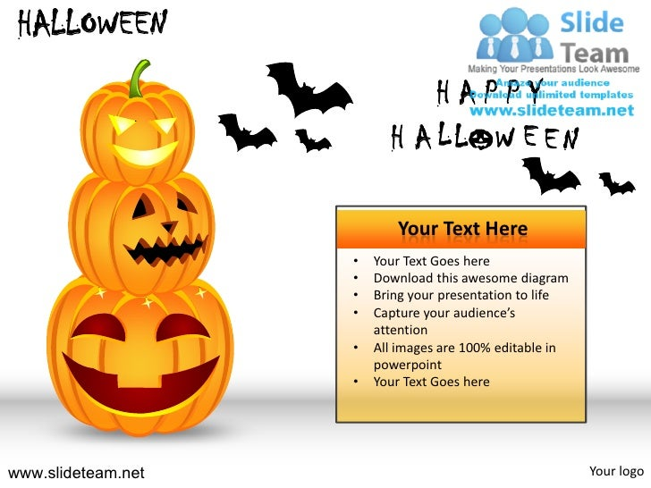 halloween powerpoint presentation slides