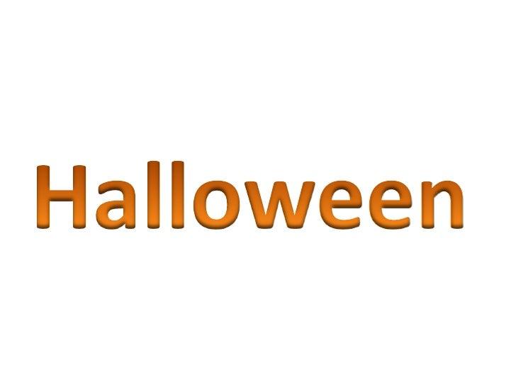 Halloween ppt