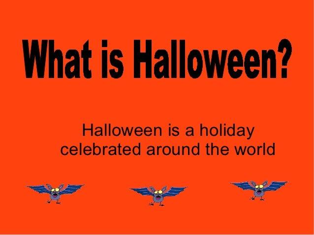 Halloween pres year 1 Slide 2