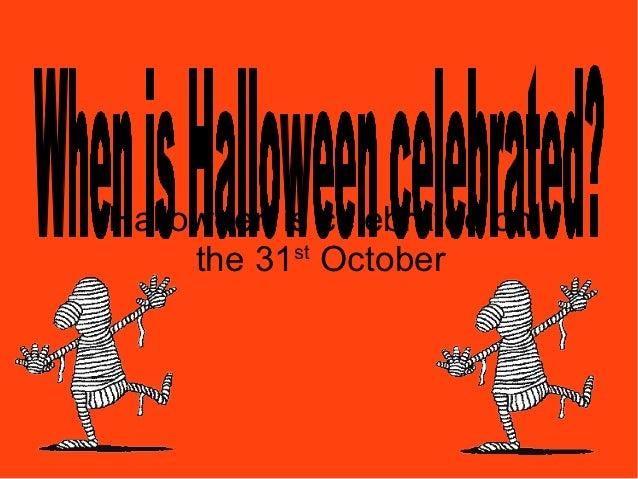 Halloween pres year 1 Slide 3