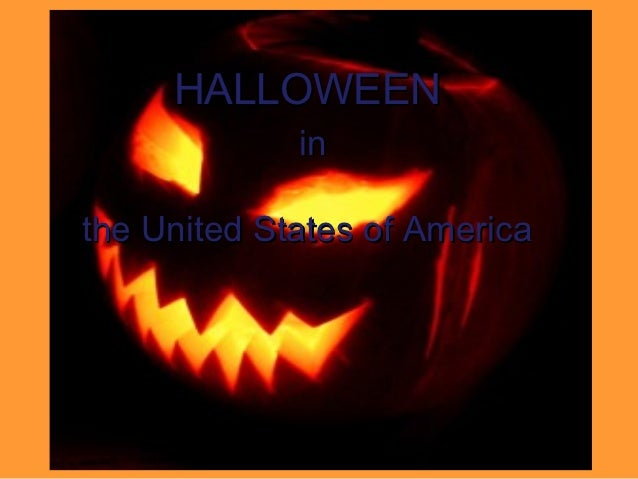 HALLOWEEN             inthe United States of America