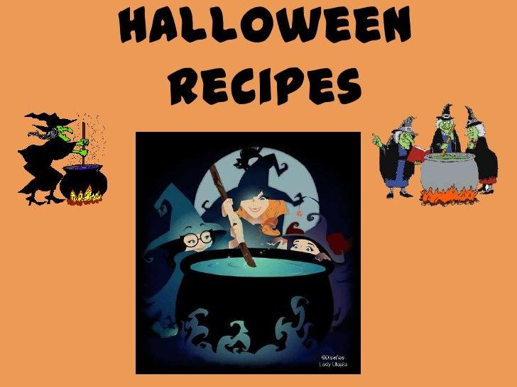 Halloweenrecipes<br />