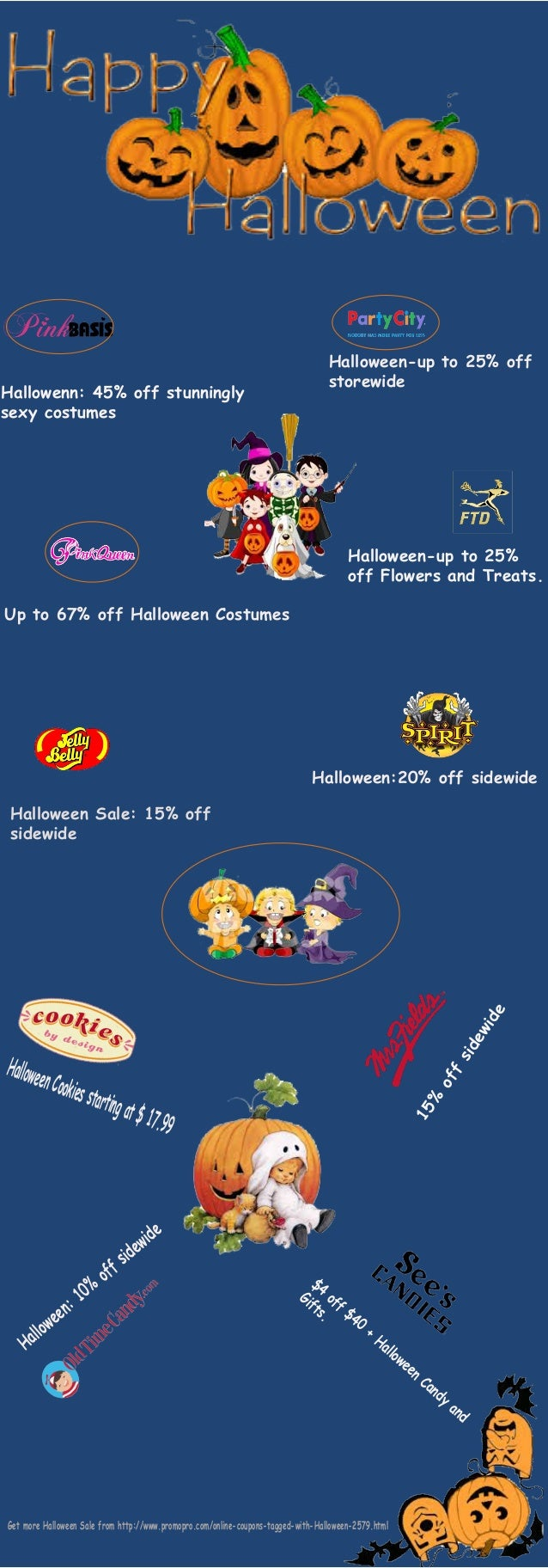 Hallowenn: 45% off stunningly  sexy costumes  Halloween-up to 25% off  storewide  Up to 67% off Halloween Costumes  Hallow...