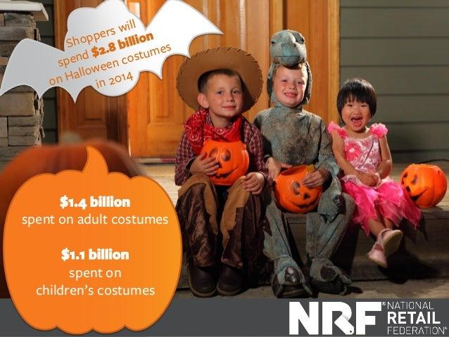 Top 10 Trends in Halloween Spending 2014 Slide 2