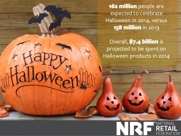 Top 10 Trends in Halloween Spending 2014 Slide 3