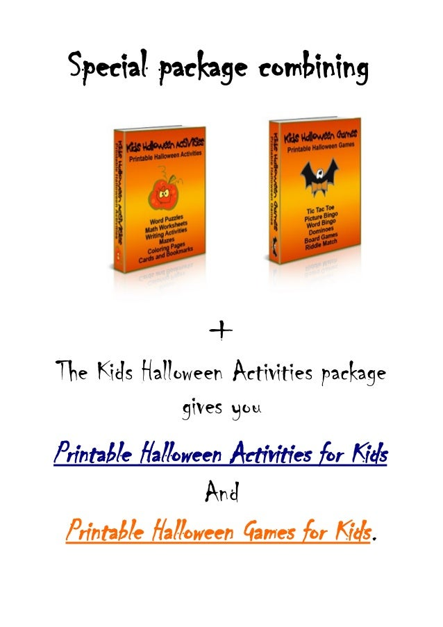 Halloween stories for kids