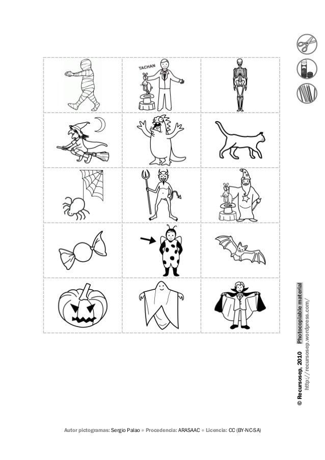 Halloween's vocabulary 4 activity Slide 2