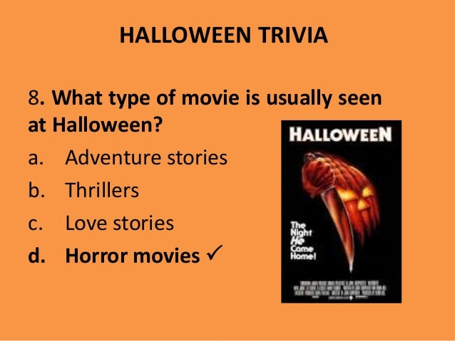 horror movies 18 halloween trivia 8 - Halloween Horror Movie Trivia