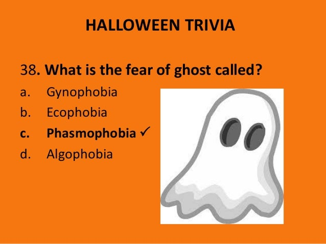 Halloween trivia 2016