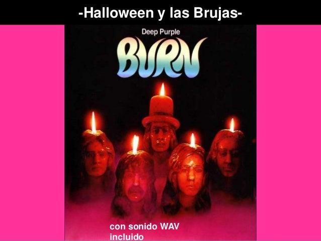 -Halloween y las Brujas- con sonido WAV incluido