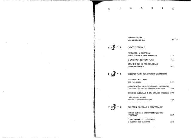 "stuart hall diaspora essay Note on stuart hall's ""cultural identity and diaspora i analytically reflect on stuart hall's (1996) canonical essay socialist studies/études socialistes."