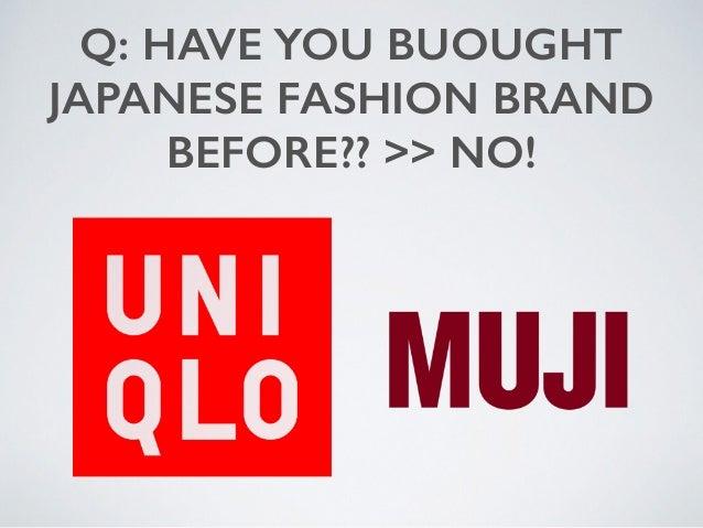 hallu - Japanese Fashion Brand Pitch May 2015 Slide 3