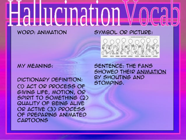 what is the meaning of hallucination