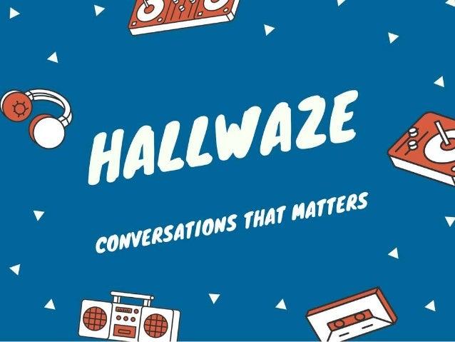 Hallwaze | Modern communication platform for smart teams