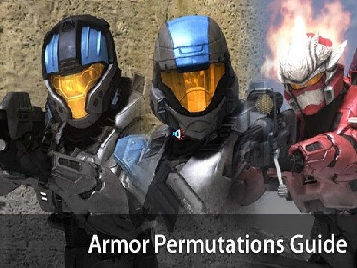 Halo 3 Armors Slide 1