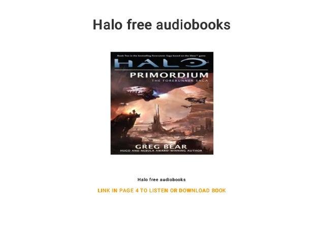 Ebook download primordium halo