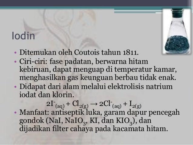 Halogen Fluorin Klorin Bromin Iodin Astatin Ppt