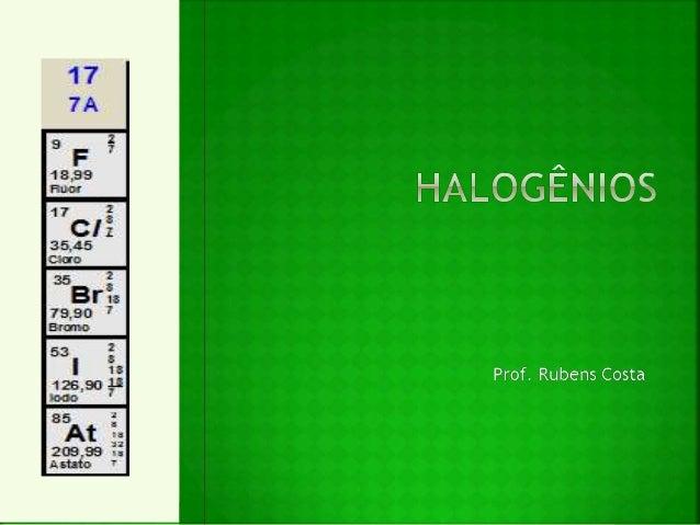 Halogênios