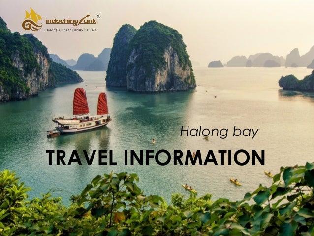 TRAVEL INFORMATION Halong bay
